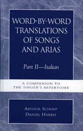 Word-By-Word Translations of Songs and Arias, Part II