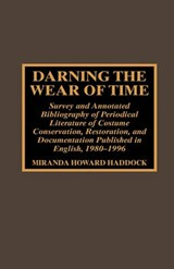 Darning the Wear of Time | Miranda Howard Haddock |