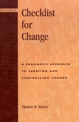 Checklist for Change | Thomas R. Harvey |