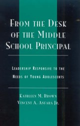 From the Desk of the Middle School Principal | Kathleen Brown |