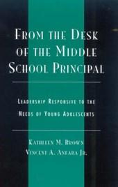 From the Desk of the Middle School Principal | Kathleen M. Brown |