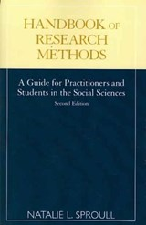 Handbook of Research Methods | Natalie L. Sproull |