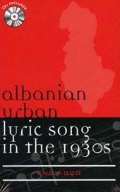 Albanian Urban Lyric Song in the 1930s