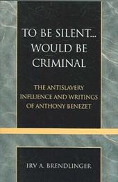 To Be Silent... Would Be Criminal