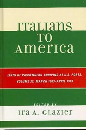 Italians to America, Volume