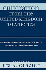 Emigration from the United Kingdom to America | auteur onbekend |