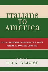 Italians to America, Volume