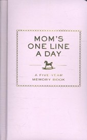 Mom's one line a day : a five-year memory book |  |