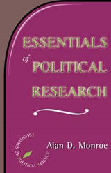 Essentials of Political Research | Alan D. Monroe |