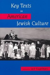 Key Texts in American Jewish Culture | auteur onbekend |