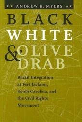 Black, White & Olive Drab