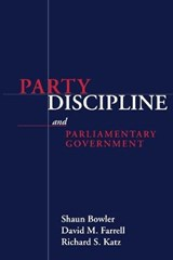 Party Discipline and Parliamentary Government |  |