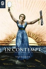 In Contempt | Kristin Kalsem |