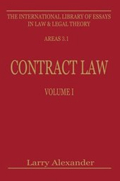 Contract Law, Volume