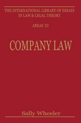 Company Law | Sally Wheeler |