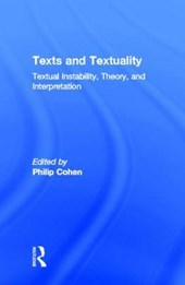 Texts and Textuality