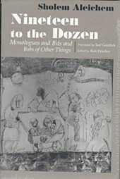 Nineteen to the Dozen Monologues and Bits and Bobs of Other Things
