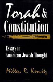 Torah and Constitution