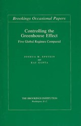 Controlling the Greenhouse Effect | Joshua M. Epstein |