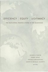 Efficiency, Equity, and Legitimacy | auteur onbekend |