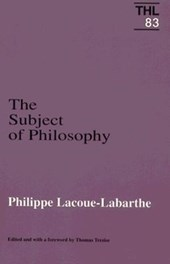 Subject of Philosophy