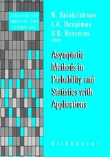 Asymptotic Methods in Probability and Statistics with Applications | auteur onbekend |