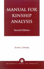 Manual for Kinship Analysis