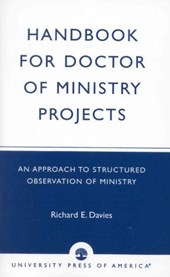 Handbook for Doctor of Ministry Projects