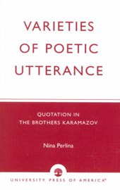 Varieties of Poetic Utterance