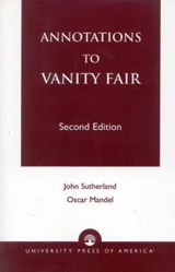 Annotations to Vanity Fair | Oscar Mandel |