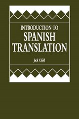Introduction to Spanish Translation | Jack Child |