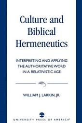 Culture and Biblical Hermeneutics