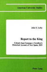 Report to the King | John S. Leiby |