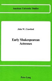 Early Shakespearean Actresses