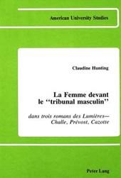 La Femme devant le 'tribunal masculin'
