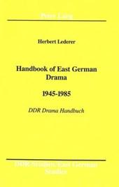 Handbook of East German Drama- 1945 -