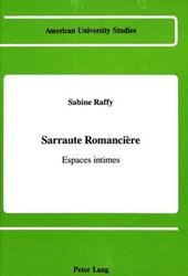 Sarraute romancière
