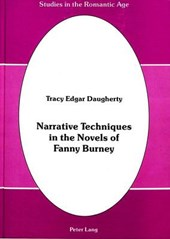 Narrative Techniques in the Novels of Fanny Burney