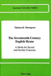 The Seventeenth-Century English Hymn