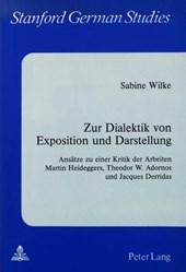 Zur Dialektik von Exposition und Darstellung