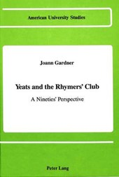 Yeats and the Rhymers' Club