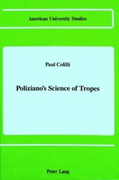 Poliziano's Science of Tropes