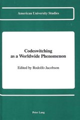 Codeswitching as a Worldwide Phenomenon | auteur onbekend |