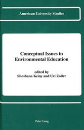 Conceptual Issues in Environmental Education |  |