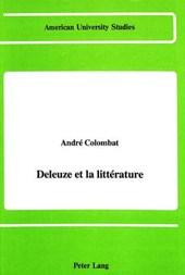 Deleuze et la littérature