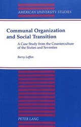 Communal Organization and Social Transition | Barry Laffan |