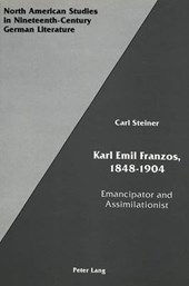 Karl Emil Franzos, 1848-1904