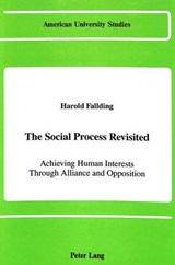 The Social Process Revisited | Harold Fallding |