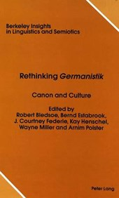 Rethinking «Germanistik»