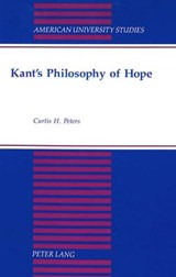 Kant's Philosophy of Hope | Curtis H. Peters |